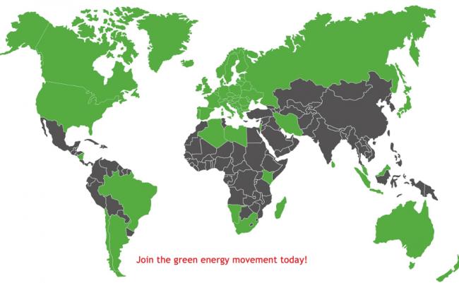 Heizomat World Map